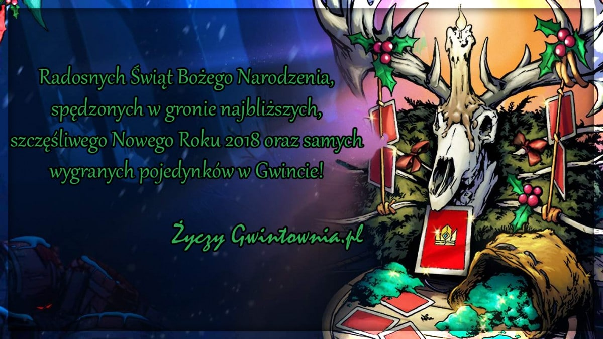 Życzenia Bożonarodzeniowe Gwintownia.pl