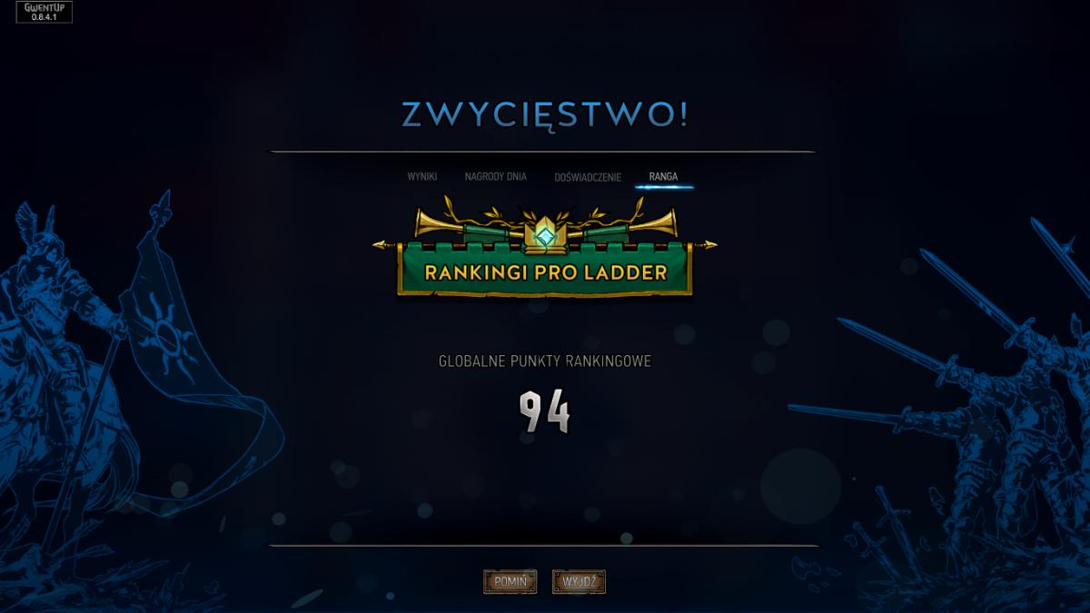 Pro Ladder Gwint
